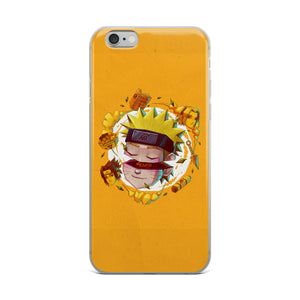 Trouble kid iPhone Case