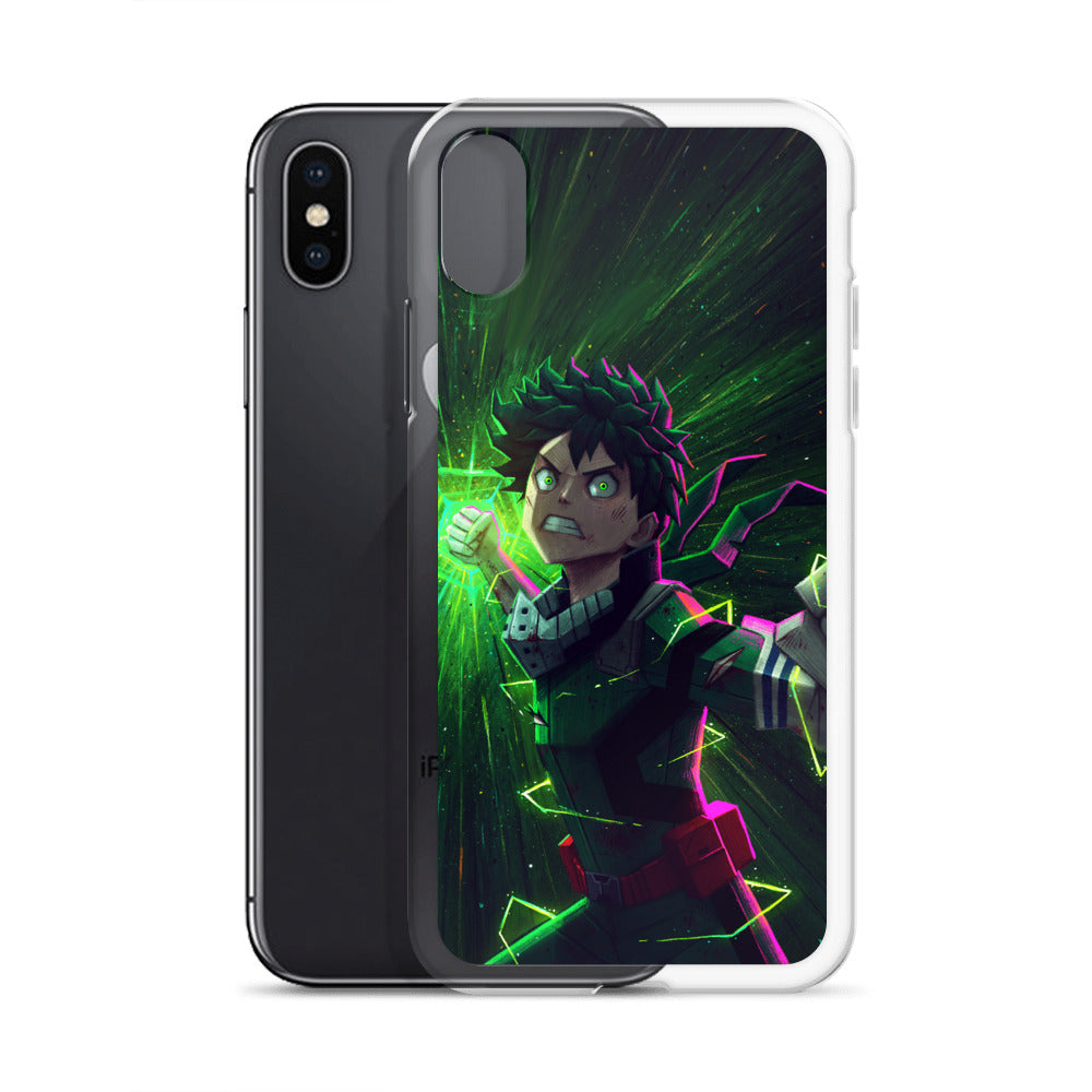 Green rage iPhone Case