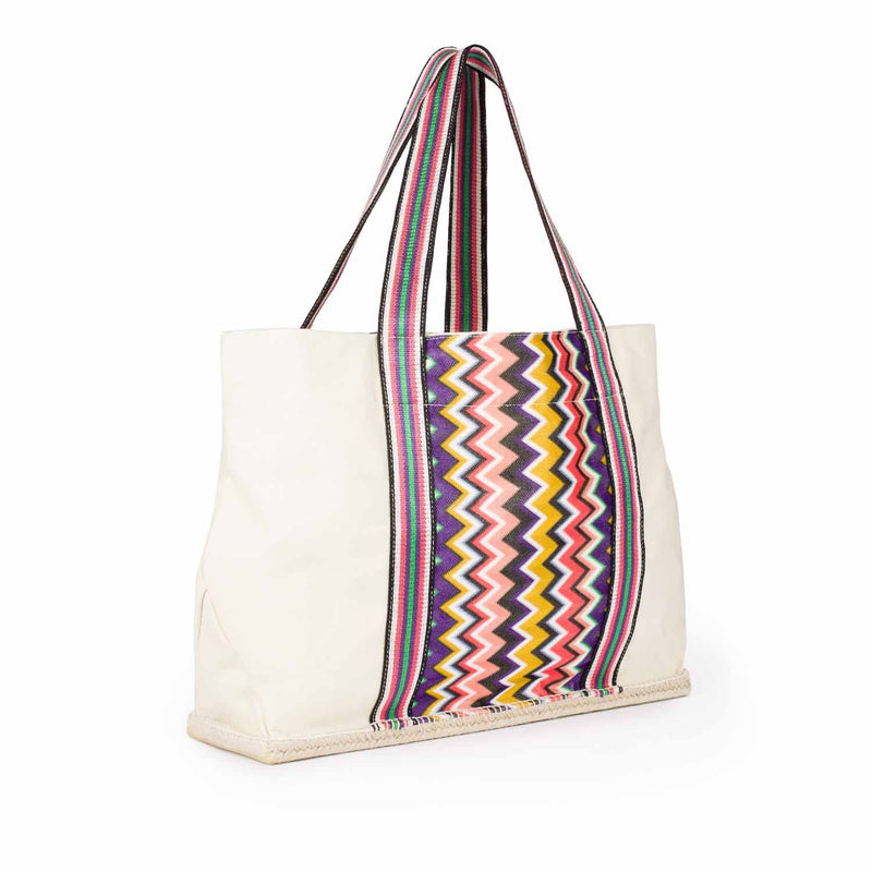 MARGUERITA BOLSO SHOPPER TEJIDO MULTICOLOR BY MISSONI