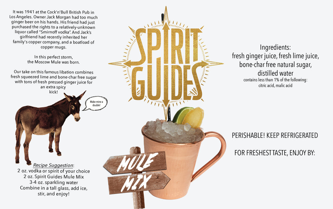 Spirit Guides Moscow Mule Mix | Cocktail Mixer
