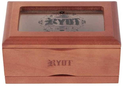 "RYOT 3x5"" Glass Top Box in Natural 