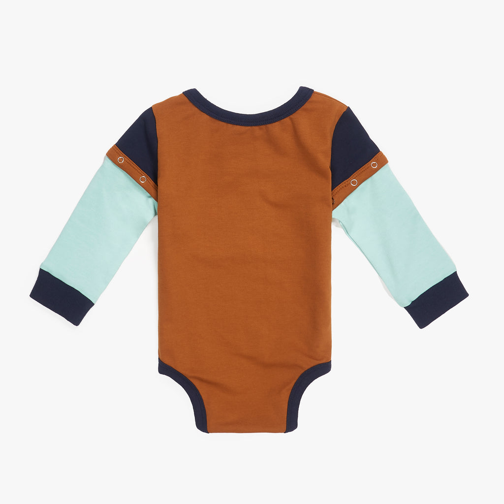 Color Block Onesie