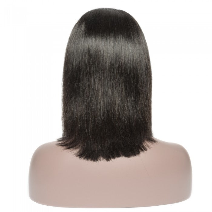 HD Undetectable Transparent Straight Frontal Lace Bob Wig