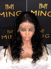 Undetectable Transparent Full Lace Body Wave Wig, #613