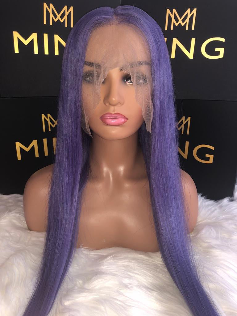 Purple  Full Lace Wig
