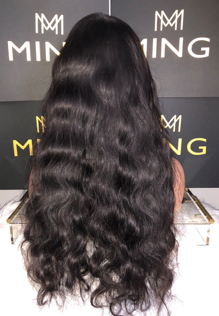 Virgin Indian Body Wave Frontal Lace Wig