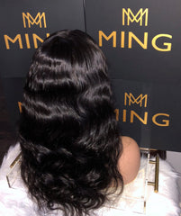 Frontal Lace Body Wave Wig (Transparent)