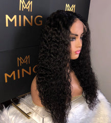 Undetectable Transparent Full Lace Water Wavy Wig