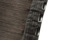 100% Brazilian Clip In Hair Extensions - Single Clip In