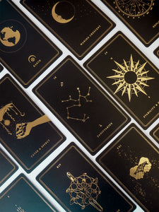 'Child Of The Universe' Gold Edition • Oracle Deck