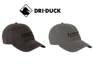 Unstructured Low-Profile Waxy Canvas Hat - LUND'S FISHERIES