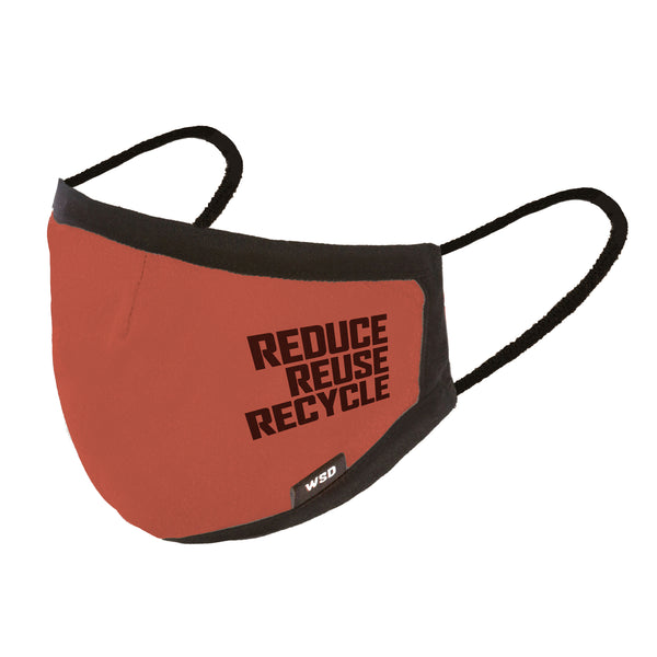 Eco Mask Adultos - Reduse Reuse Recycle
