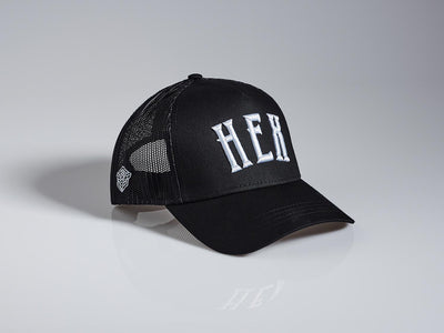 Obsidian + Pewter Trucker Hat - HEX MCR