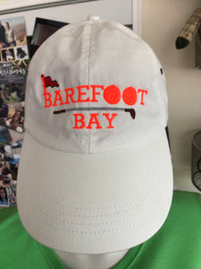 Barefoot Bay Golf clubs and balls Hat