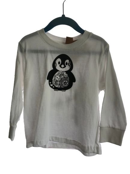 Penguin  size 4 long sleeves