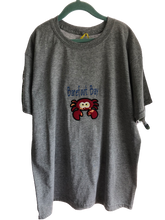 Load image into Gallery viewer, Barefoot Bay Crab XL youth fabric applique T Shirt