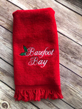 Load image into Gallery viewer, Barefoot Bay Hand towel
