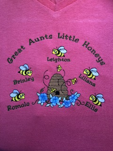 Grandma Shirt with Bees