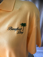 Load image into Gallery viewer, Barefoot Bay polo with palm tree  Size  Medium