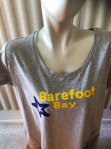 Barefoot Bay Ladies XL  scoop neck
