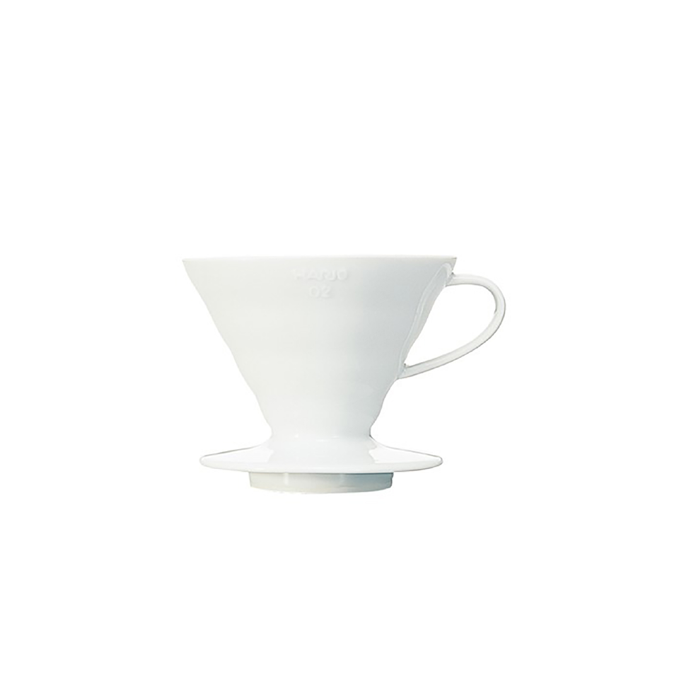HARIO V60 POUR OVER DRIPPER - WHITE CERAMIC
