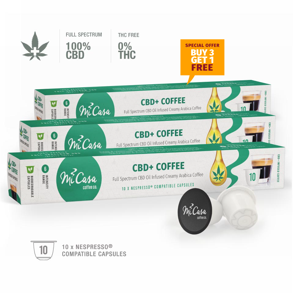 CBD+ FIRE SALE: Buy 3 boxes and get 10 Capsules FREE!