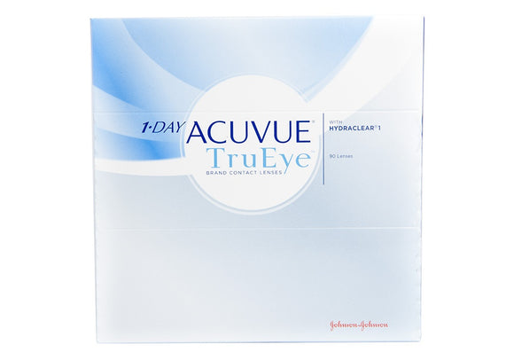 1-Day Acuvue TrueEye - 90 Pack