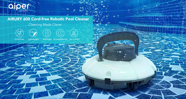 Aiper Smart AIPURY600 Cordless Pool Cleaner