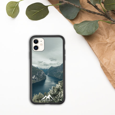 Geirangerfjorden - Biodegradable iPhone case