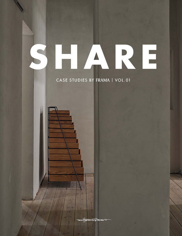 SHARE: CASE STUDIES BY FRAMA VOL. 1: NEW HEROES + PIONEERS - Stock & Pantry