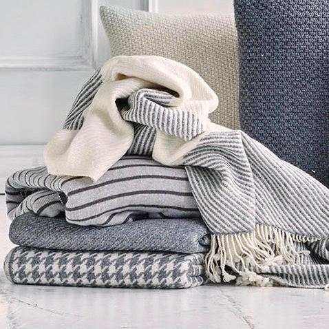 NORDIC WOOL THROW BLANKET - Stock & Pantry