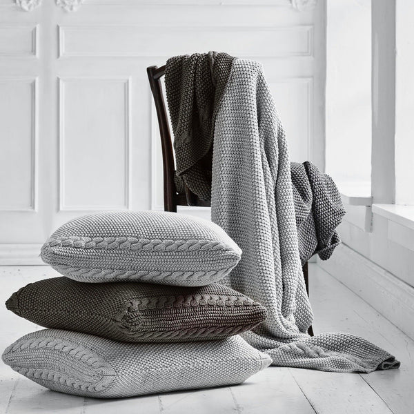 ORGANIC NORTH CABLE THROW - Stock & Pantry