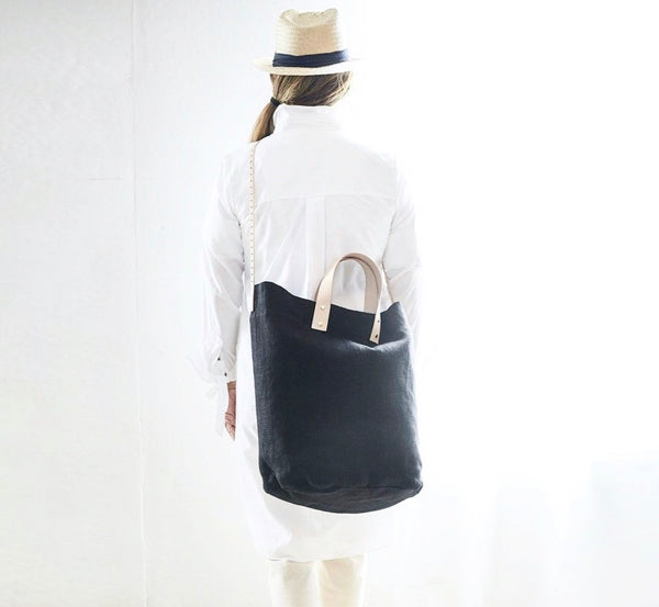 THE EVERYDAY LINEN TOTE