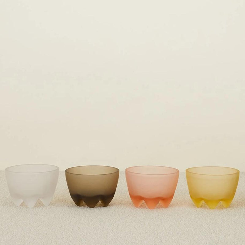 ALYSON FOX CAST GLASS FOOTED BOWL - Stock & Pantry
