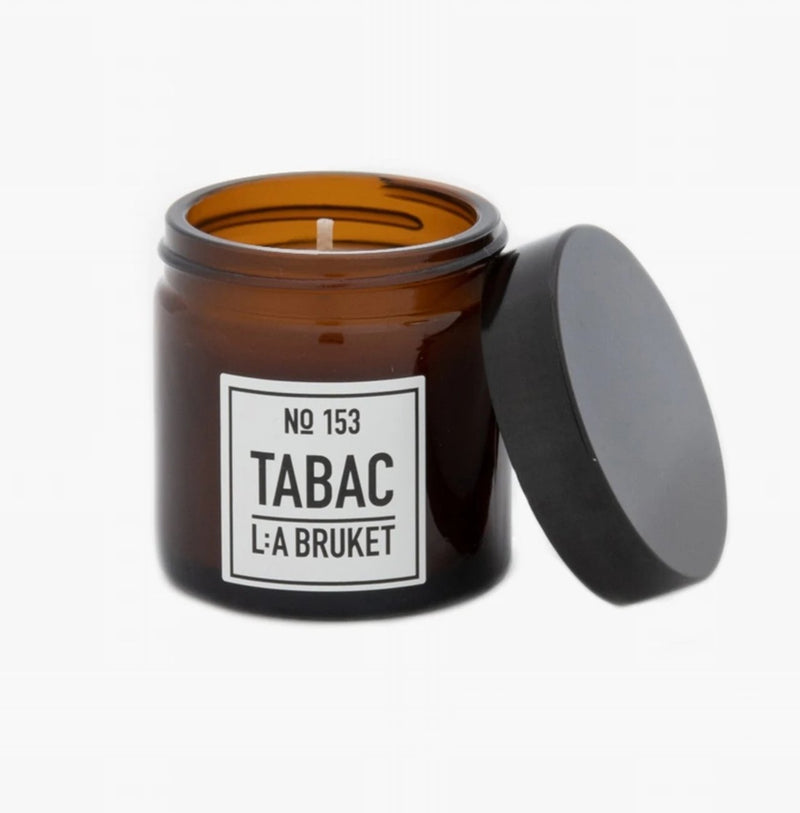 L:A BRUKET SCENTED CANDLE : TABAC - Stock & Pantry