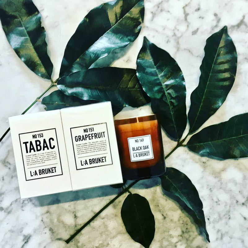 L:A BRUKET SCENTED CANDLE : GRAPEFRUIT - Stock & Pantry
