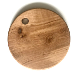 KERRY ROUND SERVING BOARDS | WHITE OAK
