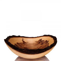 BARK EDGE AMBROSIA MAPLE BOWL - Stock & Pantry