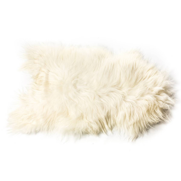 NATURAL ICELANDIC SHEEPSKIN : WHITE - Stock & Pantry