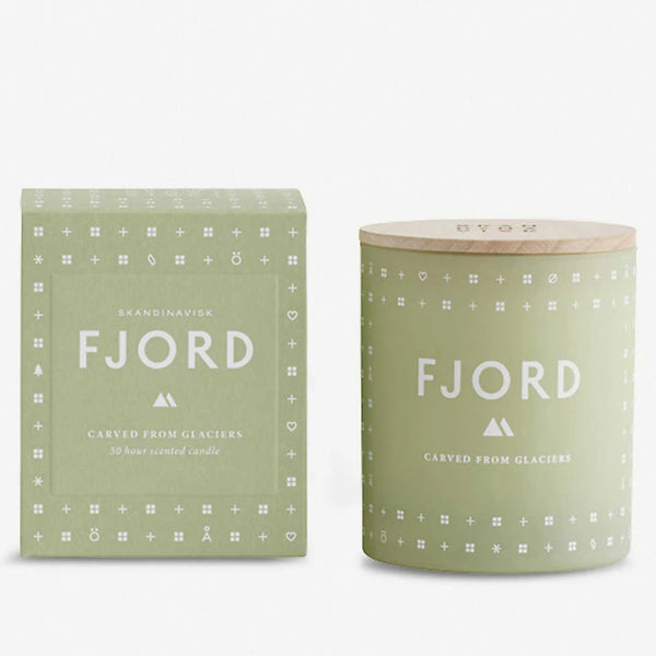 SKANDINAVISK SCENTED CANDLE : FJORD - Stock & Pantry