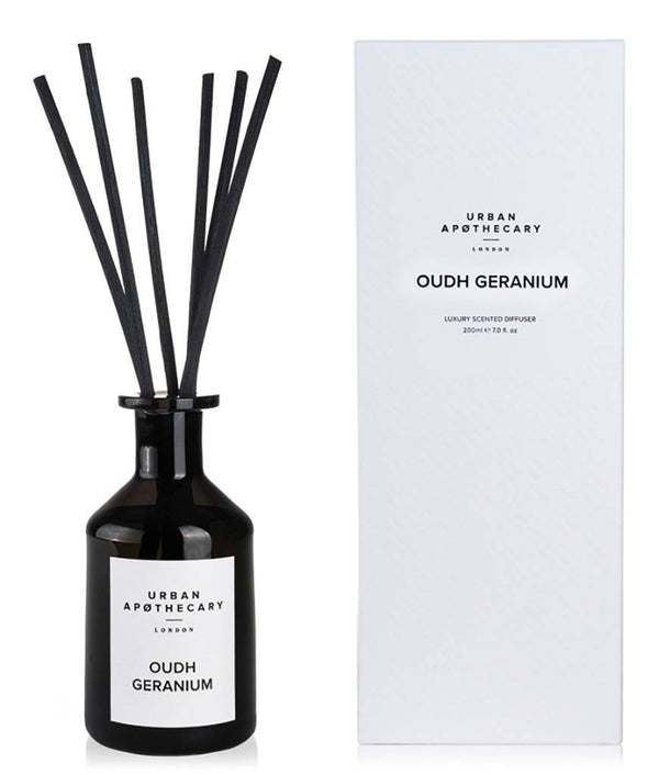 URBAN APOTHECARY LUXURY DIFFUSER : SMOKED LEATHER - Stock & Pantry