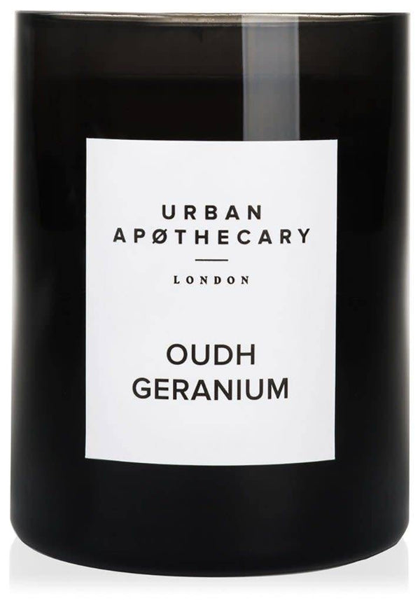 URBAN APOTHECARY LARGE SCENTED CANDLE : OUDH GERANIUM - Stock & Pantry