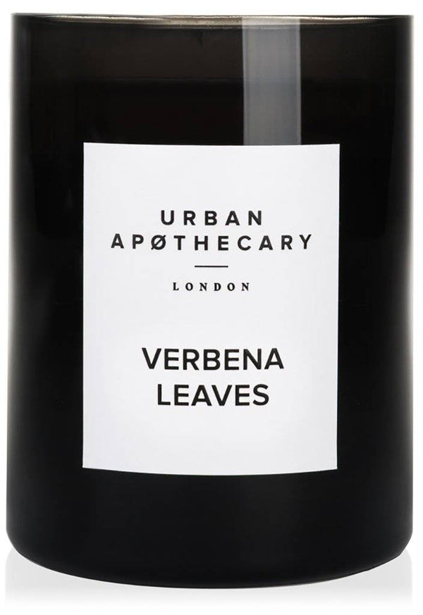 URBAN APOTHECARY LARGE SCENTED CANDLE : VERBENA LEAVES - Stock & Pantry
