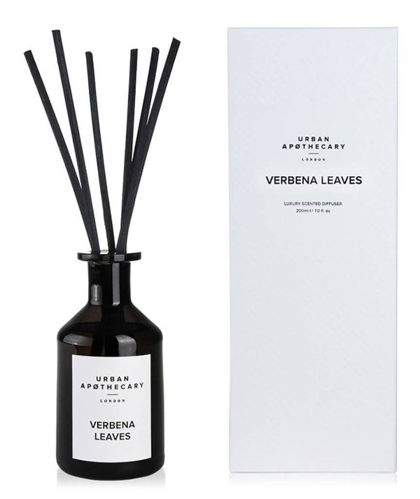 URBAN APOTHECARY LUXURY DIFFUSER : VERBENA LEAVES - Stock & Pantry