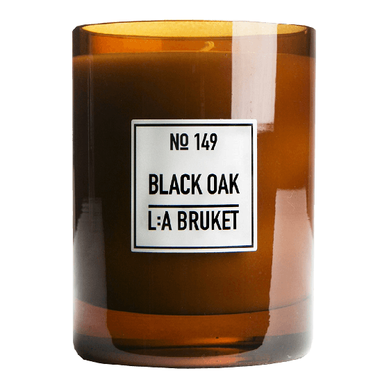 L:A BRUKET SCENTED CANDLE : BLACK OAK - Stock & Pantry