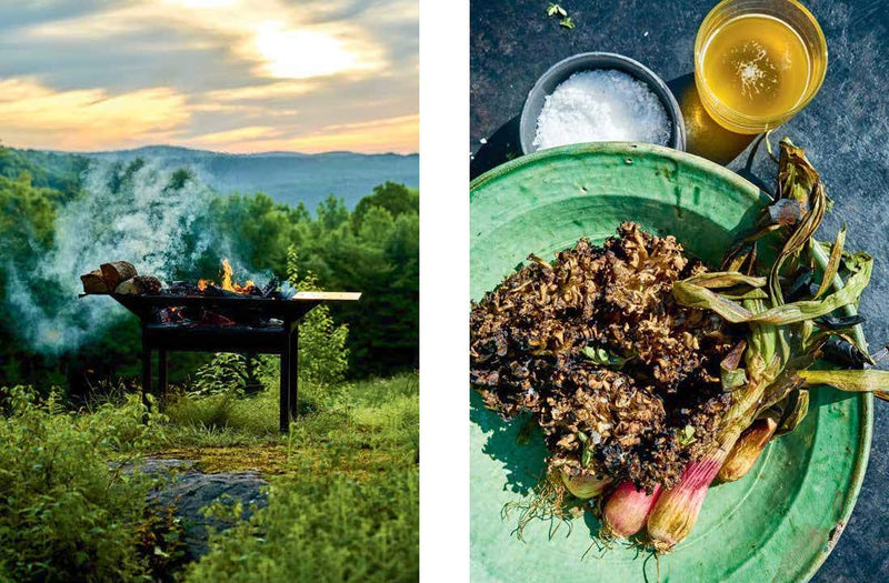 THE OUTDOOR KITCHEN: LIVE FIRE COOKING FROM THE GRILL