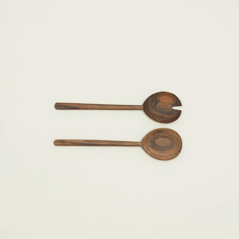 SIMPLE WALNUT SERVING SET - Stock & Pantry