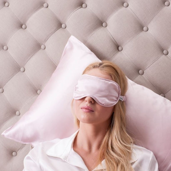 sleep eyemask silk satin affordable australia bedtime beauty sleep
