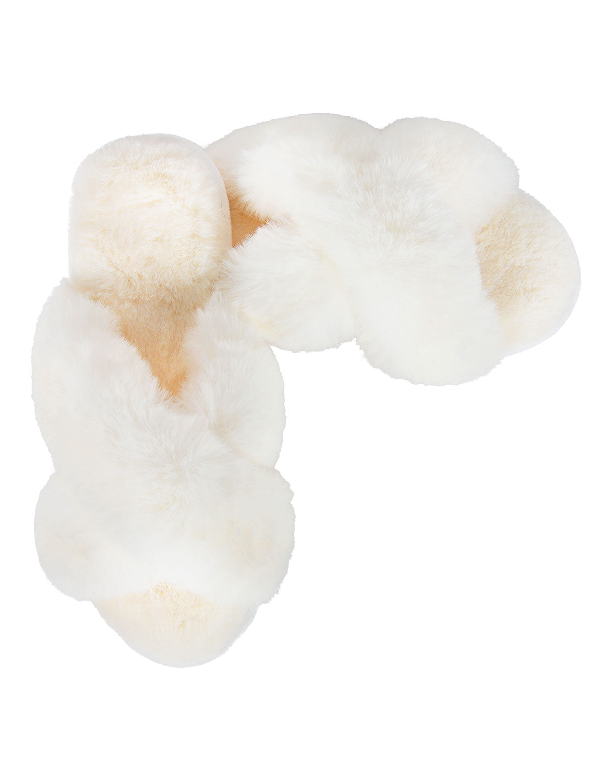 Luxe Fur Plush Slippers