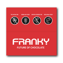 Laden Sie das Bild in den Galerie-Viewer, FRANKY WHITE CHOCOLATE & STRAWBERRY - Feel Good Box (20 Stück) - FRANKY Chocolate